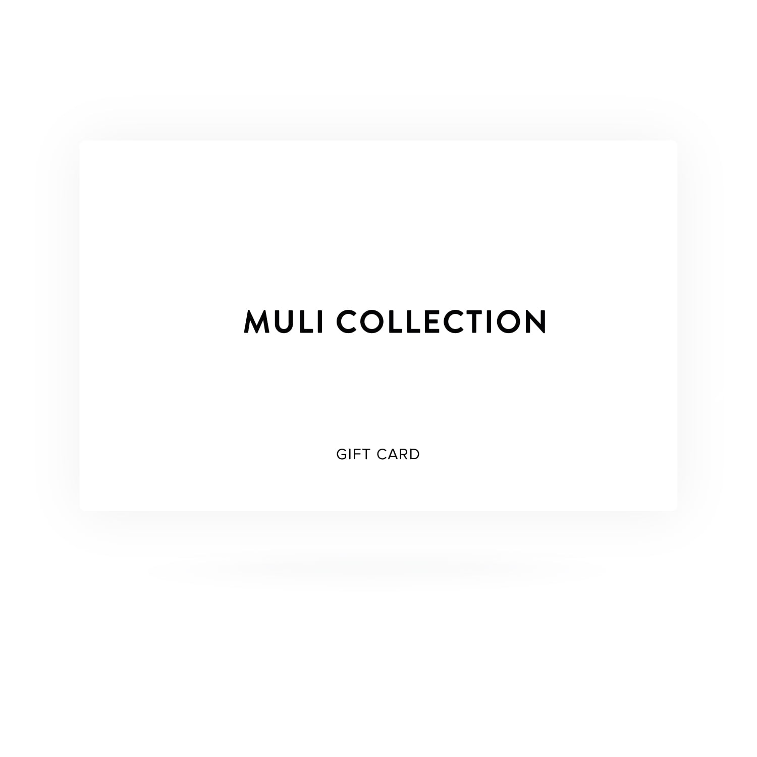 Muli Collection Gift Card
