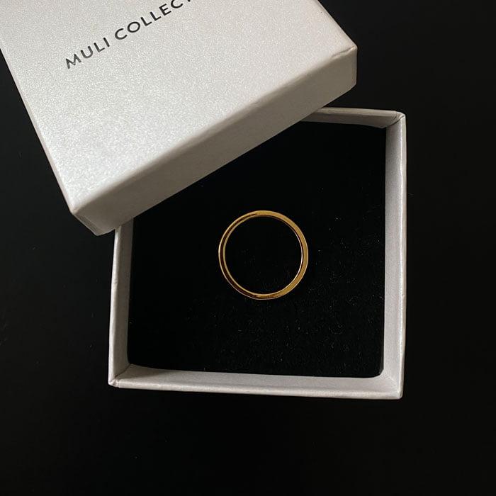 discrete and minimalistic ring