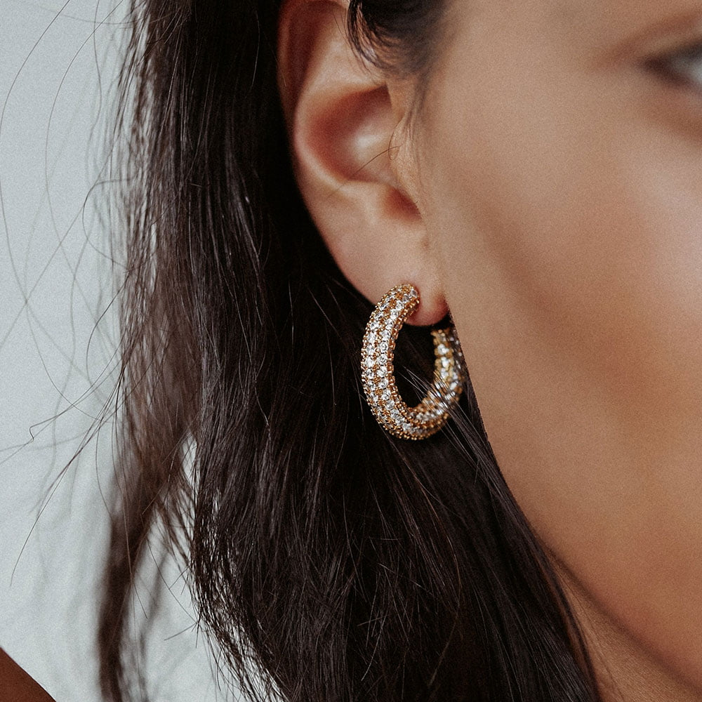 25mm pave hoops