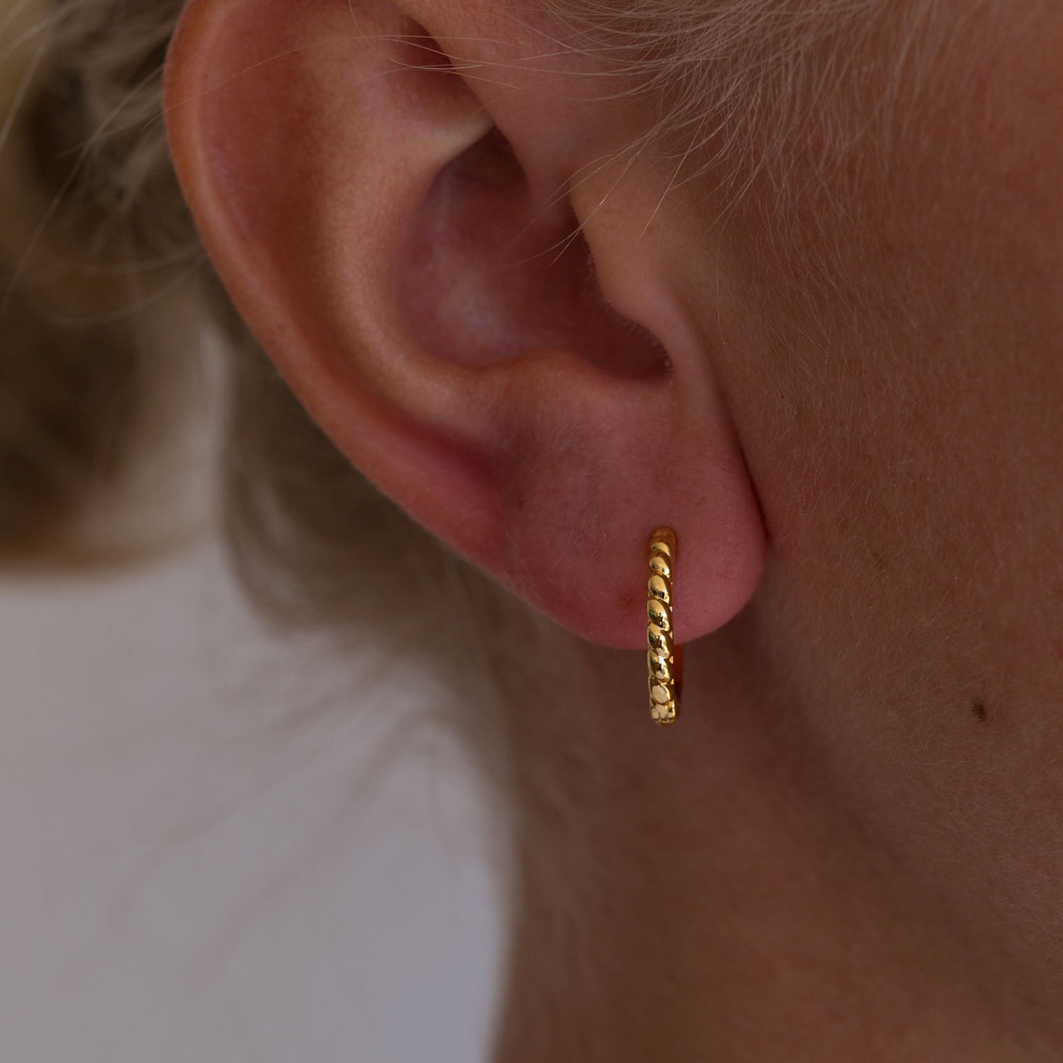15mm twisted hoops