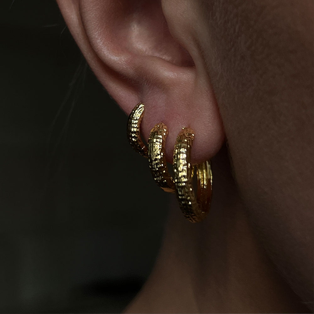 3-pack tectured hoops